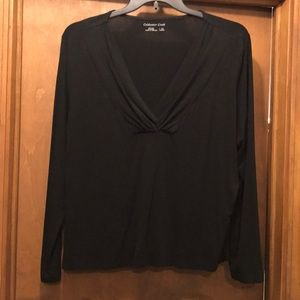 Dressy knit shirt